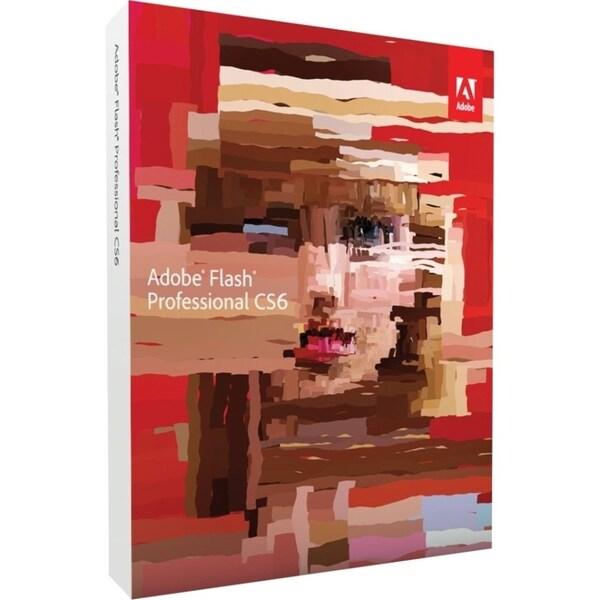 Adobe Flash CS6 v.12.0 Professional - Complete Product - 1 User