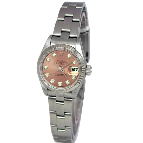 Pre-owned Rolex Women's Oyster Perpetual Datejust Watch