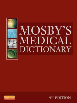 Mosby's Medical Dictionary (Hardcover)