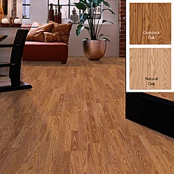 DIY 8mm 3-Strip Laminate Flooring (17.18 SF)