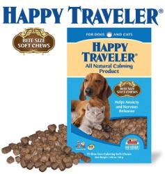 Happy Traveler Chewable 1.98-ounce Soft Chew Supplement