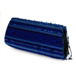 Rayon 'Atitlan Romance' Beaded Medium Clutch Handbag (Guatemala)