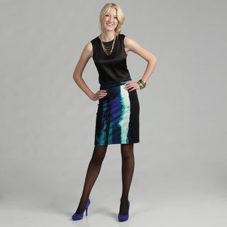 Calvin Klein Women's Paintbrush Pencil Skirt