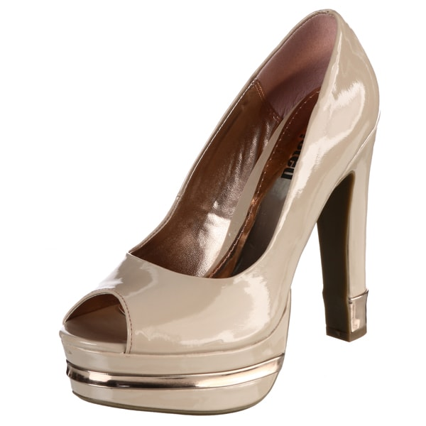 Unlisted by Kenneth Cole Women's 'Carry With You' Nude Pumps