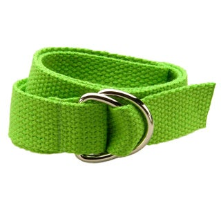 Leapin' Lime Kids D-Ring Belt
