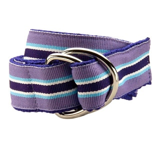 Grape Punch Kids D-Ring Belt