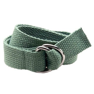 Gear Head Grey Kids D-Ring Belt
