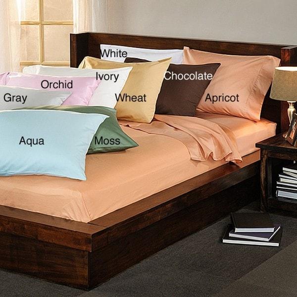 Cotton Rich Sateen 400 Thread Count Sheet Set With Bonus Pillowcases