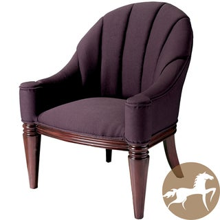 Christopher Knight Home Contemporary Antonio Purple Fabric Club Chair (37 x 30.5 x 29.39)