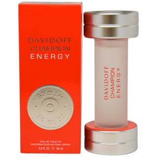 Davidoff Champion Energy Men's 3-ounce Eau de Toilette Spray