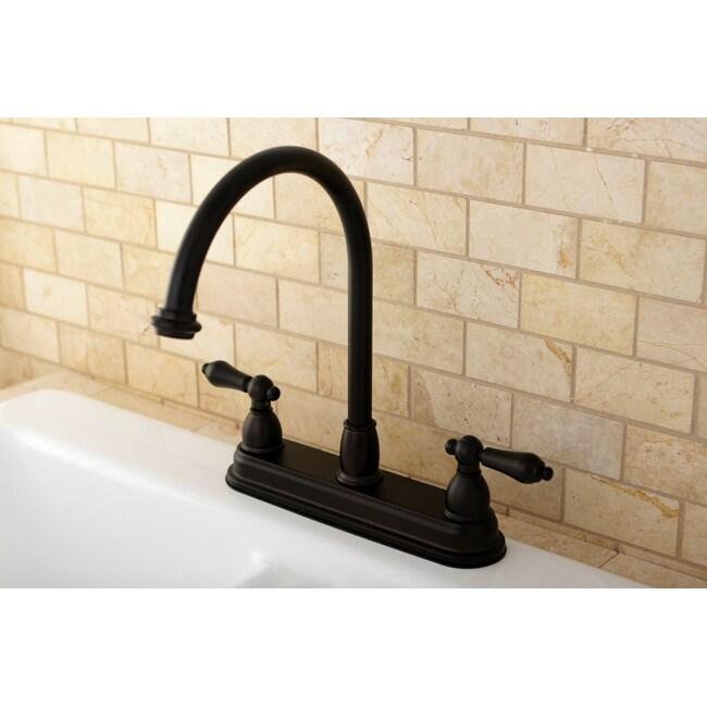 High Spout 2-handle Kitchen Faucet