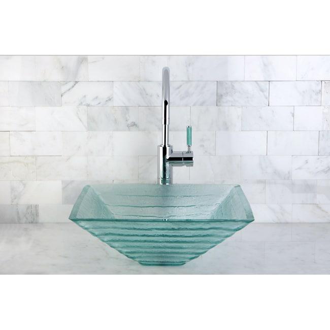 Crystal Bathroom Vessel Sink
