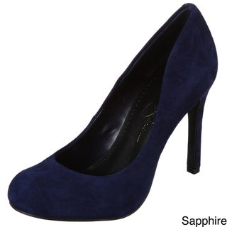 Jessica Simpson Women's 'Calie' Suede Leather Pumps
