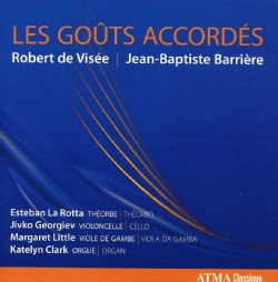 Jean Barriere - Barriere/De Visee: Les Gouts Accordes