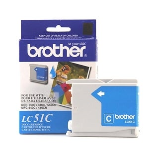 Brother Cyan Inkjet Cartridge For MFC-240C Multi-Function Printer