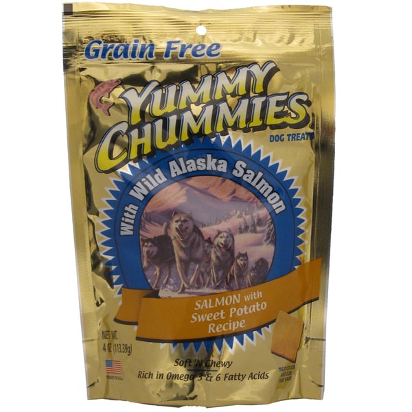 Yummy Chummies Salmon with Sweet Potato Dog Treats