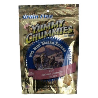 Yummy Chummies Salmon Supreme 4-oz Dog Treats