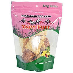 Himalayan Dog Chew 2-ounce Yaky Puff