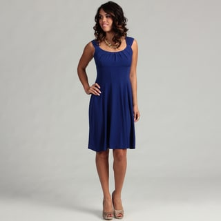 London Times Women's Fit and Flare Dress FINAL SALE