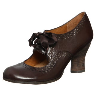 Naya Women's 'Jada' Oxford Brown Mary Jane Pumps