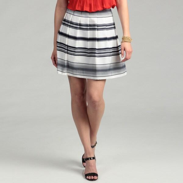 Vince Camuto Women's Caribbean Stripe Skirt