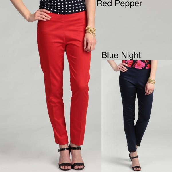 Vince Camuto Women's Side-zip Skinny Pants