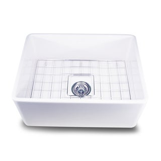 Highpoint Collection Fireclay 24-inch Kitchen Sink