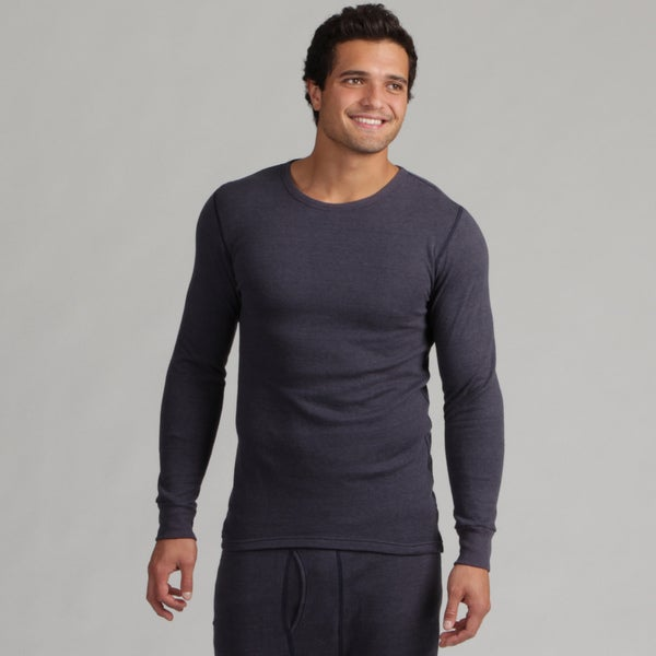 Coldpruf Men's Navy Crew Neck Base Layer Shirt