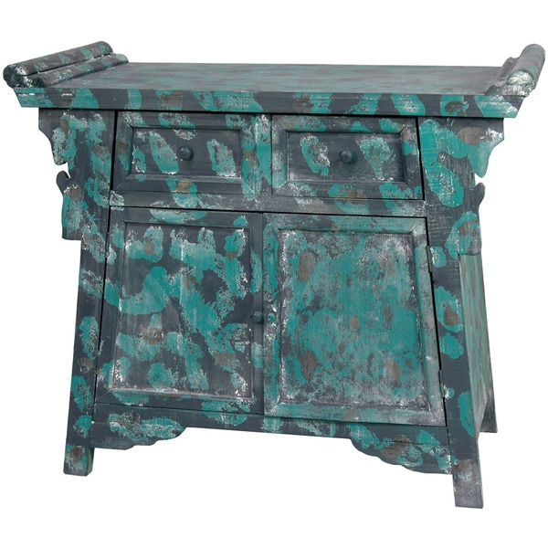 Distressed Altar Cabinet (China)