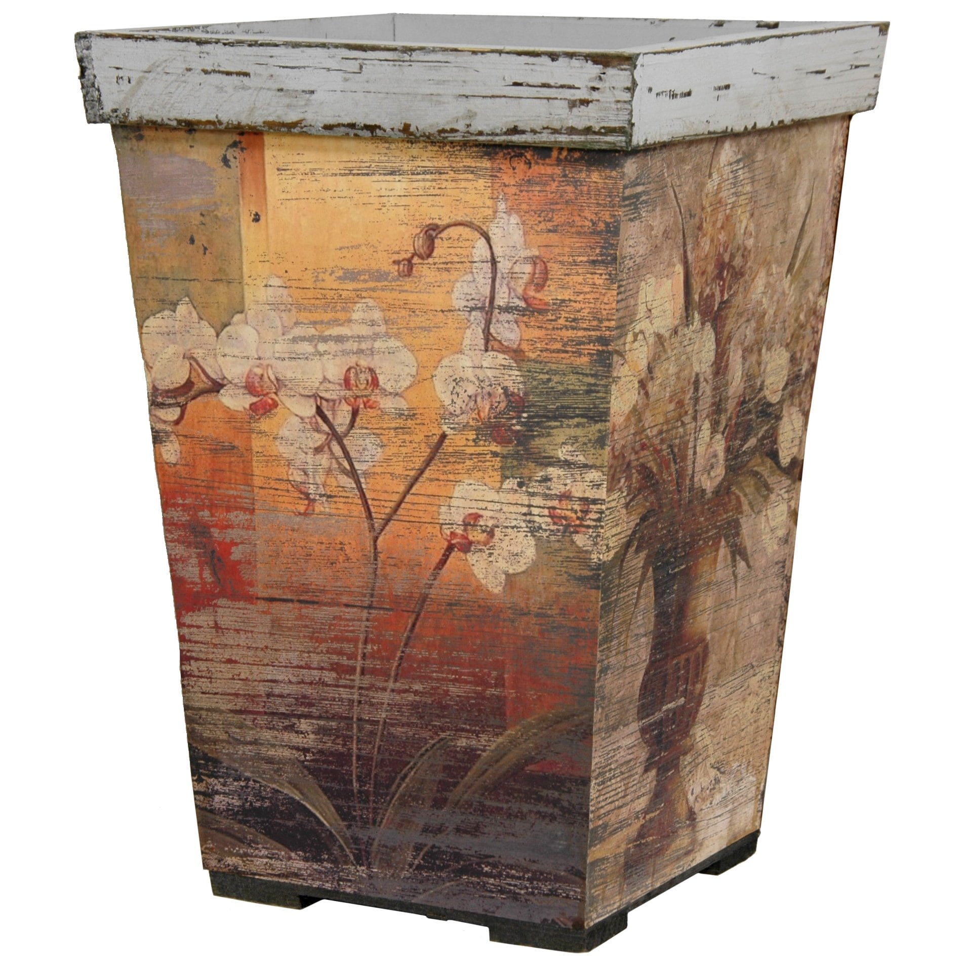 Rustic Orchids Planter (China)