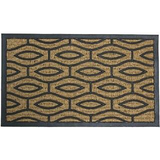 Rubber-Cal 'Green Terrace' Rubber Coir Door Mat (18