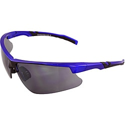 Men's 4921RV-BUSM Blue/ Black Wrap Sunglasses