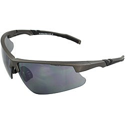 Men's 4921RV-DKGYSM Grey/ Black Wrap Sunglasses