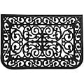 Rubber-Cal 'Liverpool' Rubber Cast Iron Entrance Mat