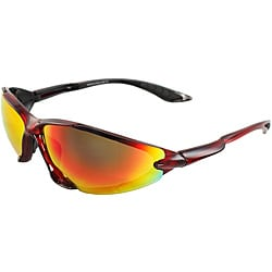 Men's 6545RV-RDR Red/ Rainbow Wrap Sunglasses