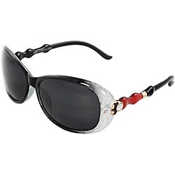 Women's Plastic Oval Fashion Sunglasses