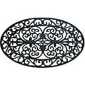 Rubber-Cal 'Verona' Rubber Cast Iron Door Mat