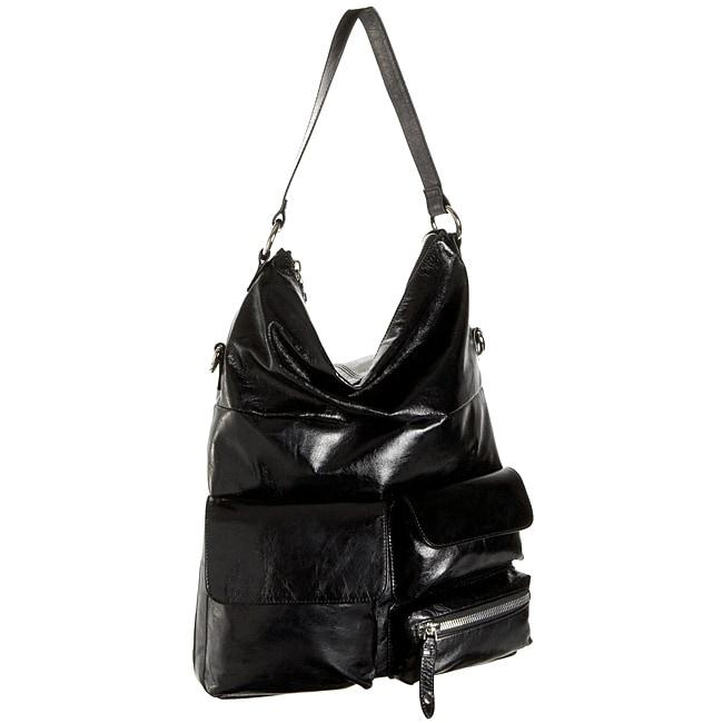 Hobo International Oversized Explorer Black Shoulder Bag