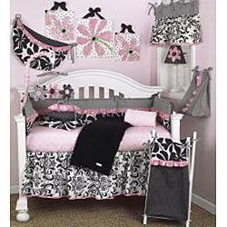 Cotton Tale Girly Crib Sheet