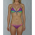 Island World Juniors Bright Tribal Halter/ Hipster Bikini