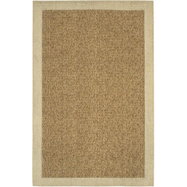 Reed Beige/ Tan Rug (1'8 x 2'6)
