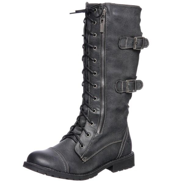 Groove Women's 'Sedona' Mid-calf Combat Boot