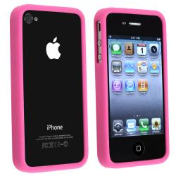 BasAcc Hot Pink TPU Bumper Case for Apple iPhone 4/ 4S