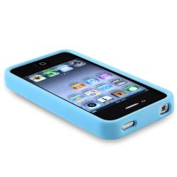 BasAcc Sky Blue TPU Bumper Case for Apple iPhone 4/ 4S