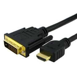 BasAcc 10-foot HDMI to DVI M/ M Cable
