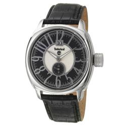 Timberland Men's 'Jonesboro' Stainless Steel and Leather Quartz Watch
