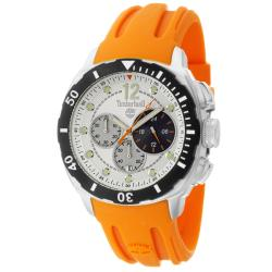 Timberland Men's 'Ocean Adventure' Contemporary Stainless Steel and Silicon Quartz Watch