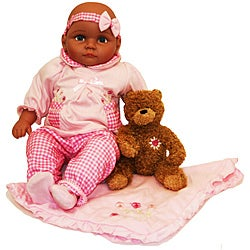Molly P Originals 18-inch Wendi Doll with Plush Bear