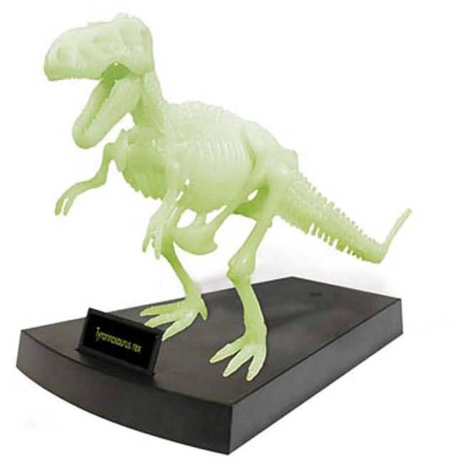 Jurassic Night Glowing Tyrannosaurus Rex Skeleton