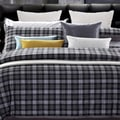 Checkers King-size 7-piece Cotton Duvet Cover Set